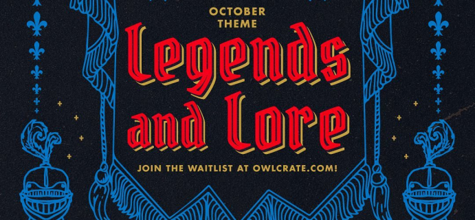 OwlCrate October 2020 Theme Spoilers & Coupon!