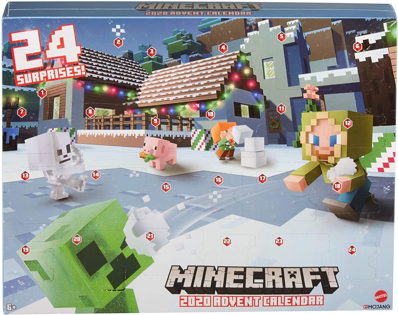 Minecraft 11 Advent Calendar Available Now! - hello subscription