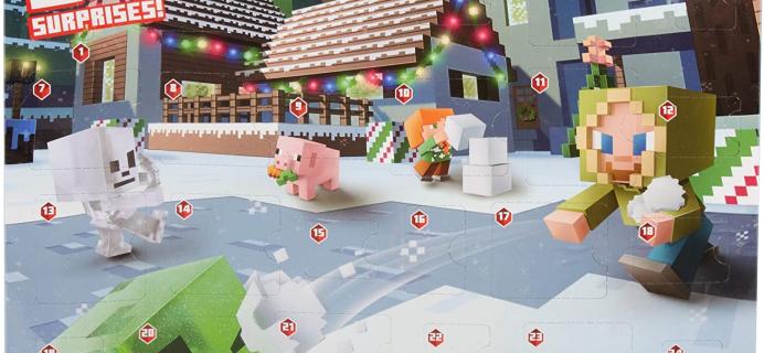 Minecraft 2020 Advent Calendar Available Now!