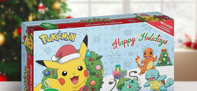 2020 Pokemon Advent Calendar Available Now!