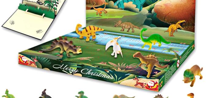 2020 HAIGOU Dinosaurs Advent Calendar Available Now!