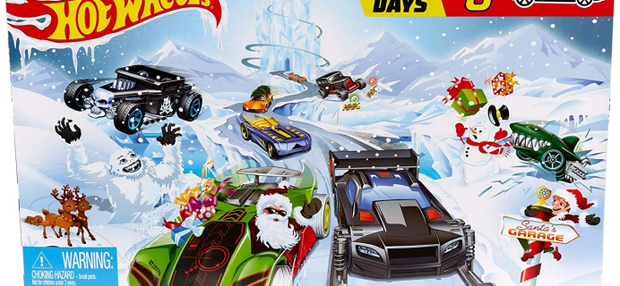 2020 Hot Wheels Advent Calendars Available Now!