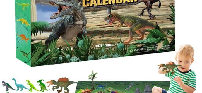 2020 ORIENTAL CHERRY Dinosaurs Advent Calendar Available Now!