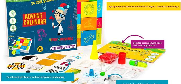 The Crazy Scientist Advent Calendar: 24 Cool Science Experiments!