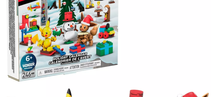 2020 Mega Construx Pokemon Advent Calendar Available Now!