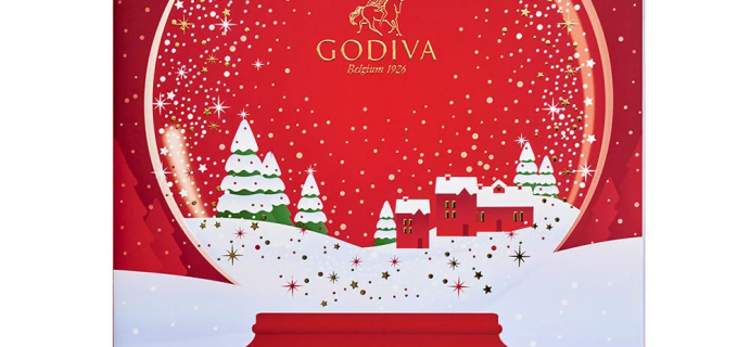 2020 Godiva Chocolate Advent Calendar Available Now + Full Spoilers!