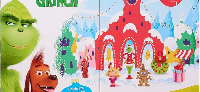Grinch Advent Calendar Available Now!