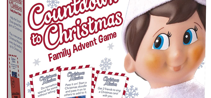 The Elf on The Shelf Advent Calendar Available Now + Full Spoilers!