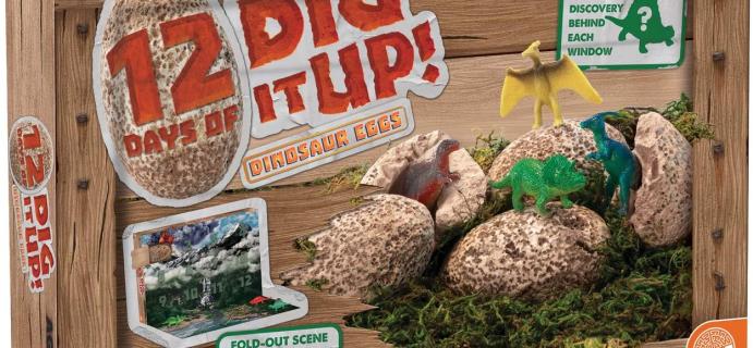 2020 MindWare Dinosaurs Advent Calendar Available Now!