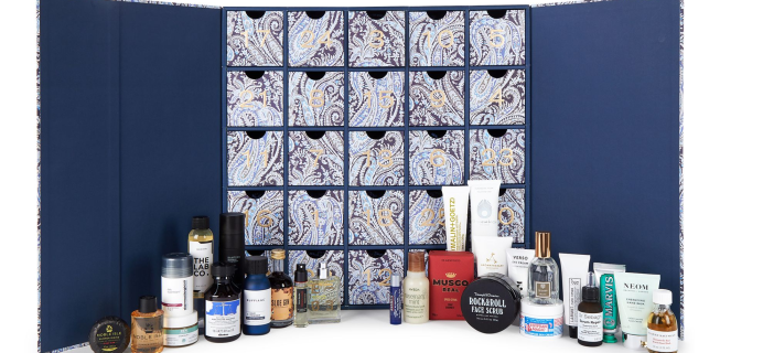 2020 Liberty Men's Grooming Advent Calendar Full Spoilers – Available Now!