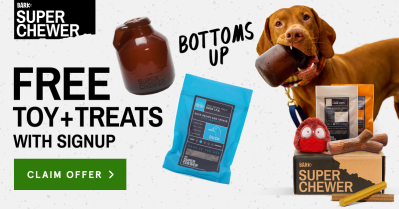 BarkBox Super Chewer Coupon: Get FREE Growler Toy + IPA Treats With Subscription!
