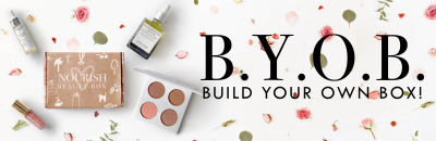 Nourish Beauty Box Build Your Own Box Available Now!