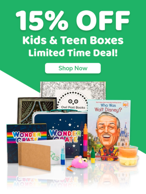 Cratejoy Sale: Save 15% On Kids & Teens Subscriptions!