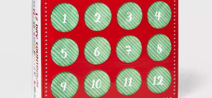 2020 Target Prize Punch Advent Calendar Available Now!