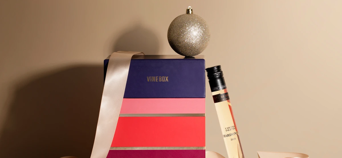 Home For The Holidays: 2020 Vinebox 12 Nights of Wine Advent Calendars Available Now!