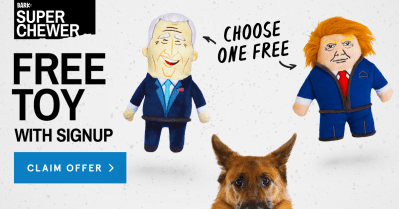 BarkBox Super Chewer Coupon: Get FREE Election Themed Toy With Subscription!
