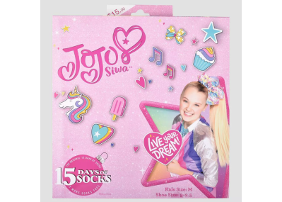 2020 Target JoJo Siwa Socks Advent Calendar Available Now!