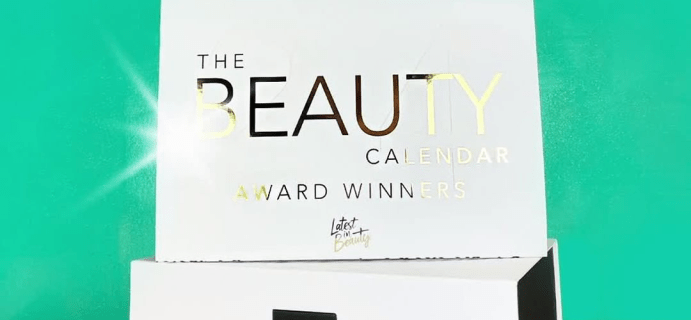2020 Latest in Beauty Advent Calendar Available Now + Spoilers! {UK}