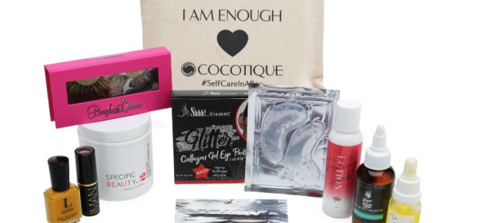Cocotique Limited Edition Women of Color Beauty Box Available Now!