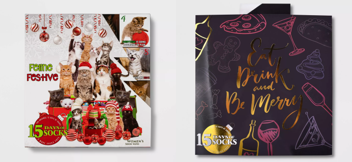 More 2020 Target Socks Advent Calendars Available Now!