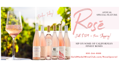Gold Medal Wine Club Rosé Special Collection Available Now!