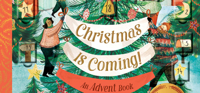 2020 Chronicle Books Christmas is Coming! Advent Calendar Book!