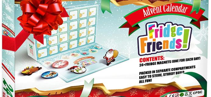 2020 Christmas Fridge Magnet Advent Calendar Available Now!