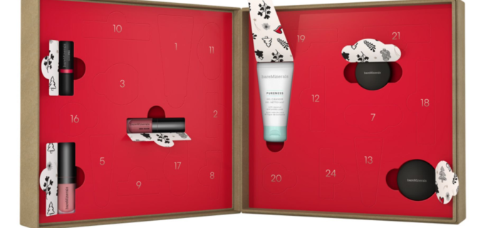 bareMinerals 2020 Beauty Advent Calendar Available Now + Full Spoilers!