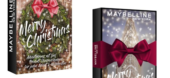 2020 Maybelline Advent Calendar Full Spoilers!