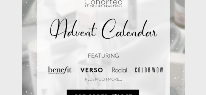 Cohorted Beauty Advent Calendar 2020 Brand Spoilers! {UK}