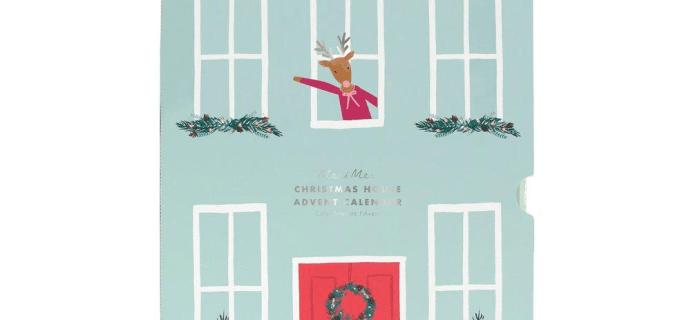 2020 Meri Meri Festive House Paper Craft Advent Calendar Available Now + Spoilers!