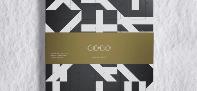 2020 COCO Chocolatier Advent Calendar Available Now!