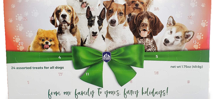 2020 Himalayan Pet Supply Dog Treats Advent Calendar Available Now!