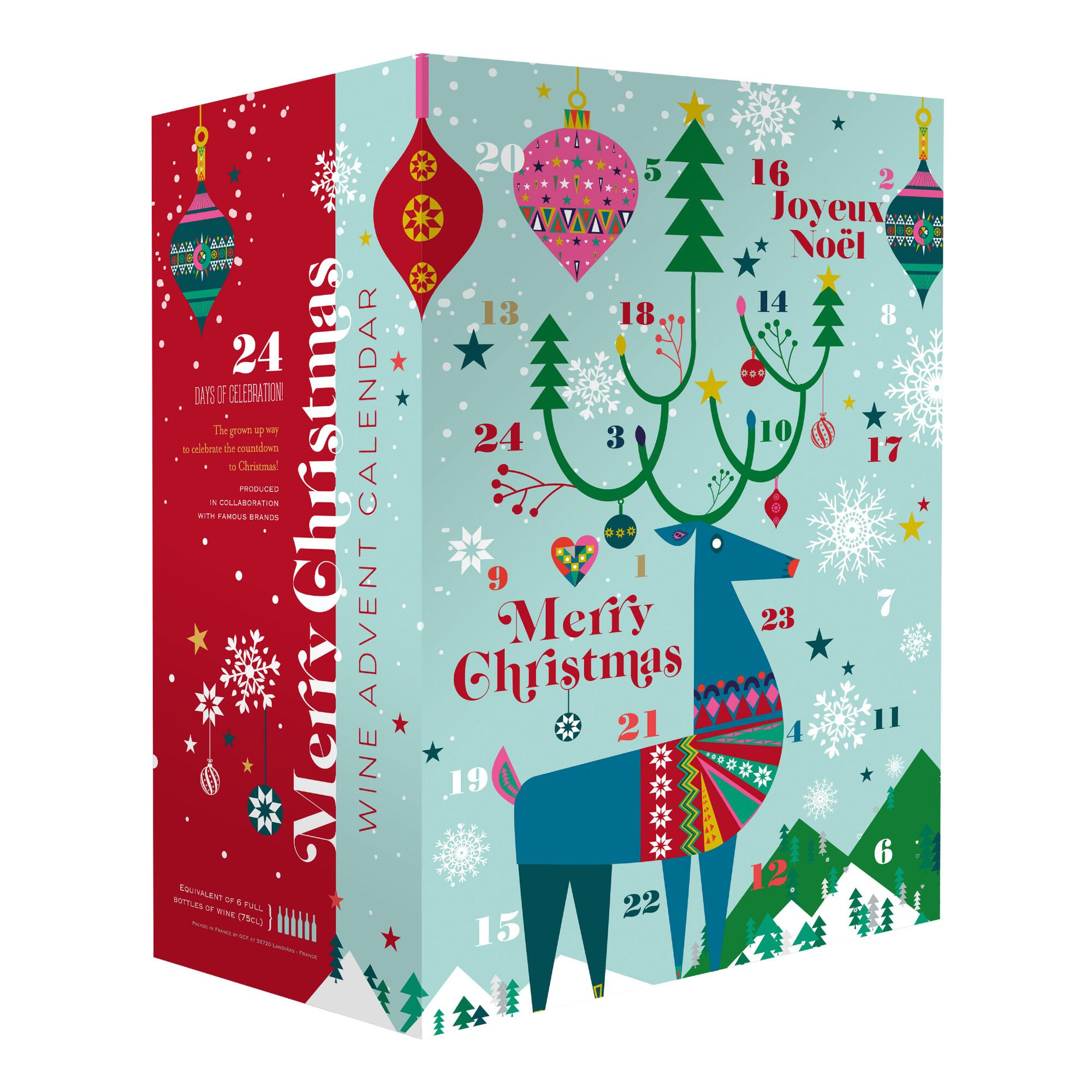 Online Christmas Calendar 2020 2020 World Market Reindeer Wine Advent Calendar Available Now
