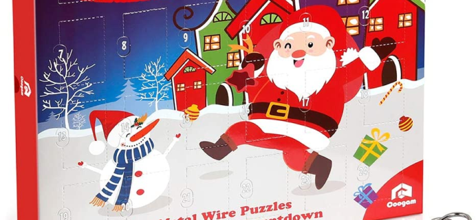 2020 Metal Wire Puzzle Advent Calendar Available Now!