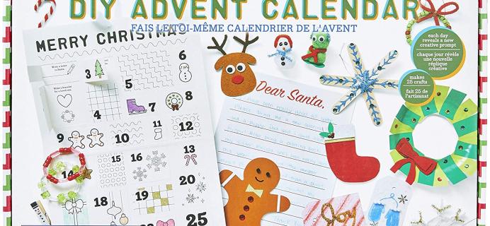 2020 Kid Made Modern DIY Advent Calendar Available Now!