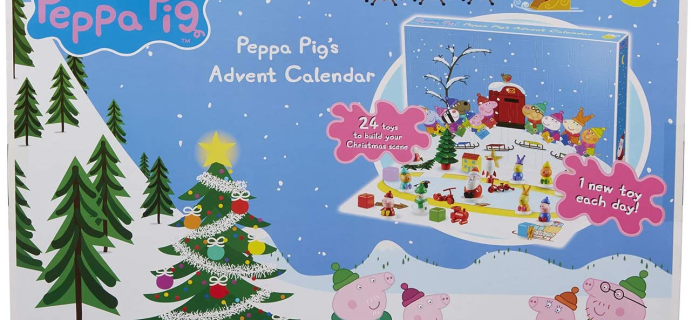 2020 Peppa Pig Advent Calendar Available Now!