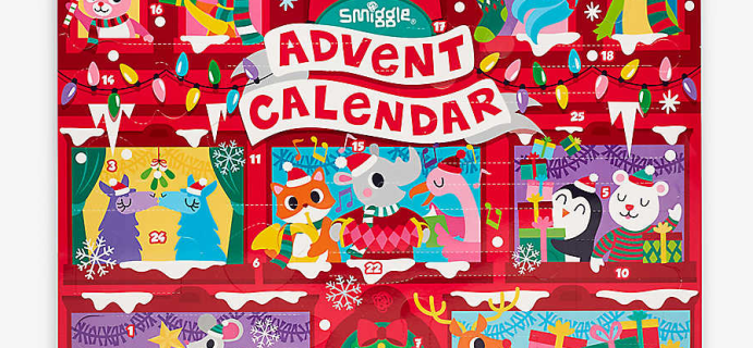 2020 Smiggle Advent Calendar Available!