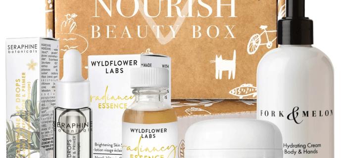 Nourish Beauty Box October 2020 Full Spoilers + Coupon!