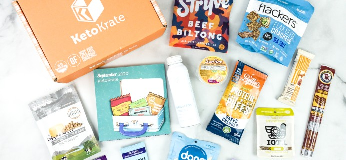 KetoKrate September 2020 Subscription Box Review + Coupon