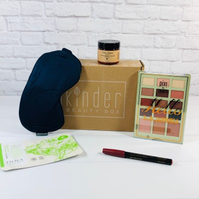 Kinder Beauty Box September 2020 Review + Coupon – SUNFLOWER