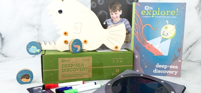 Kiwi Crate Review & Coupon – DEEP-SEA DISCOVERY