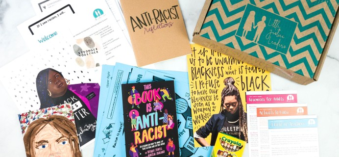 Little Justice Leaders August 2020 Subscription Box Review + Coupon
