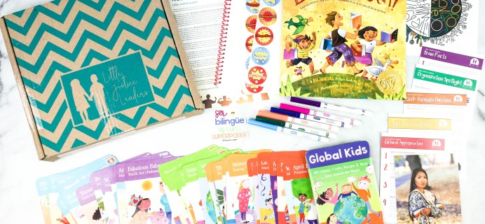 Little Justice Leaders Cyber Monday Coupon: Save 40% on your first box!