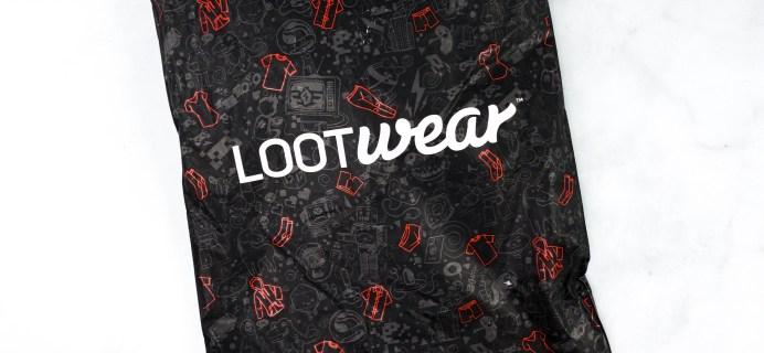 January 2021 Loot Wear Spoilers & Coupons!