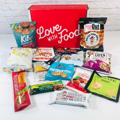Love With Food September 2020 Deluxe Box Review + Coupon!