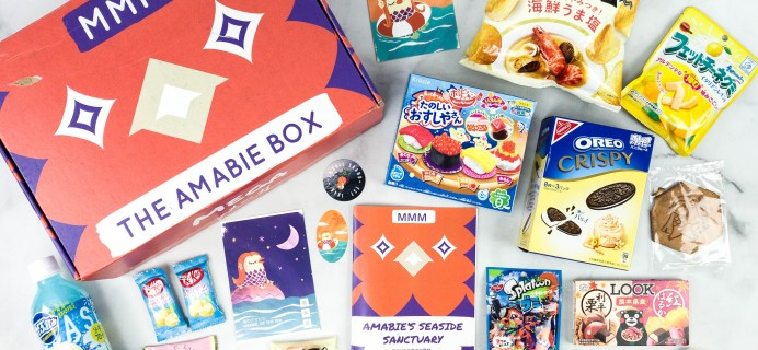 Mascot Monthly Mix October 2020 Subscription Box Review