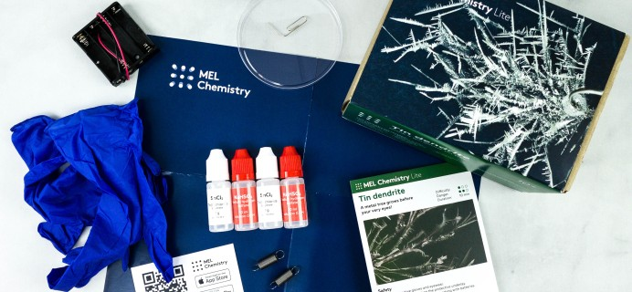MEL Lite by MEL Science Subscription Box Review – TIN DENDRITE