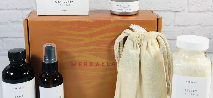 Merkaela Summer 2020 FLOW Subscription Box Review+ Coupon