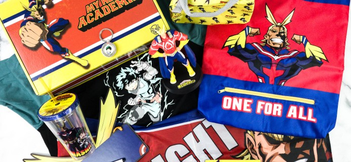 My Hero Academia Summer 2020 Subscription Box Review
